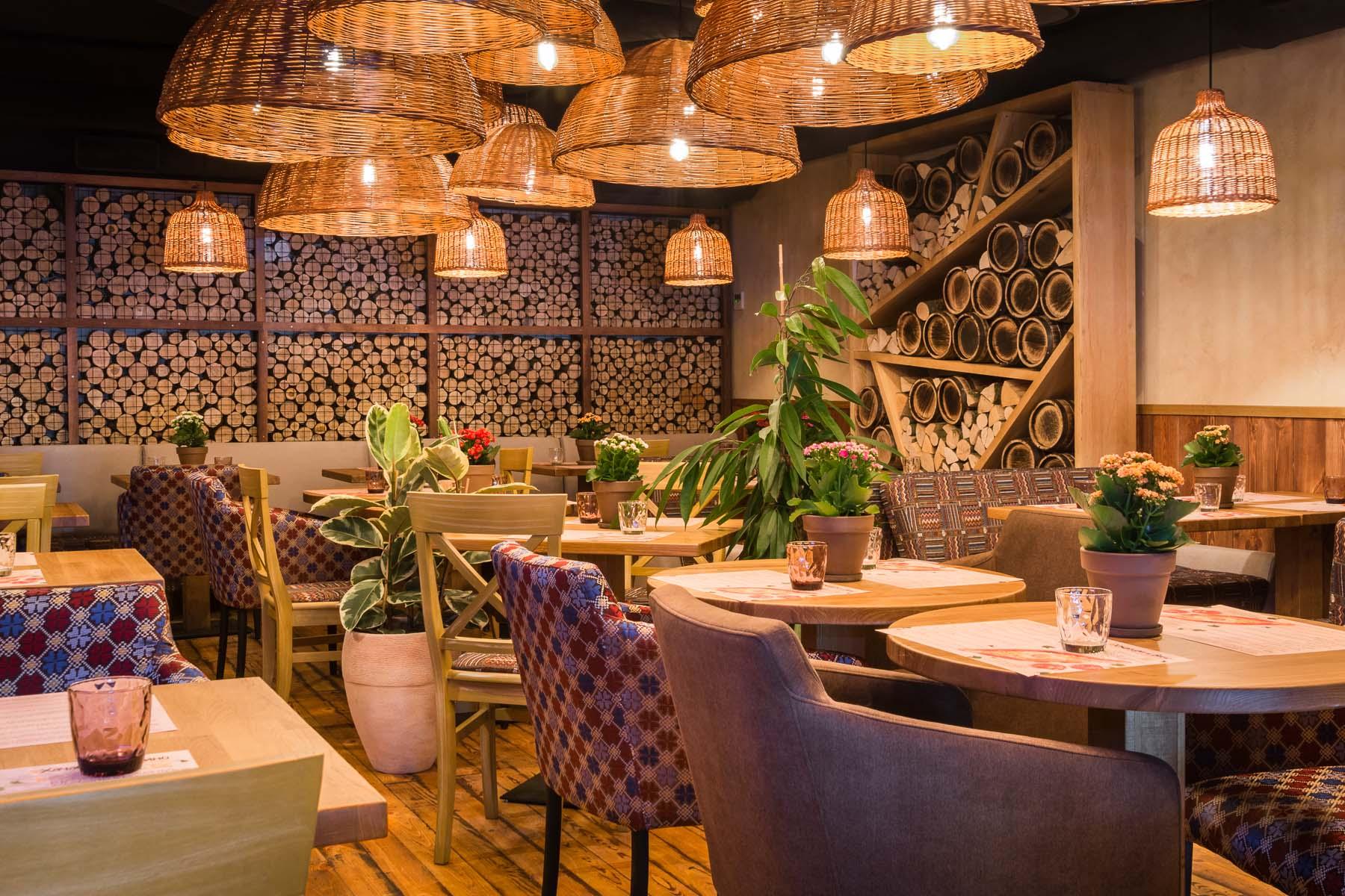 дизайн интерьера ресторана фото